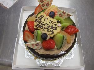 チョコケーキ (6)