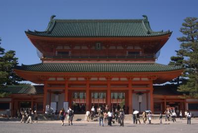 平安神宮応天門。