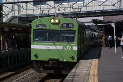 奈良線103系ナラ224編成