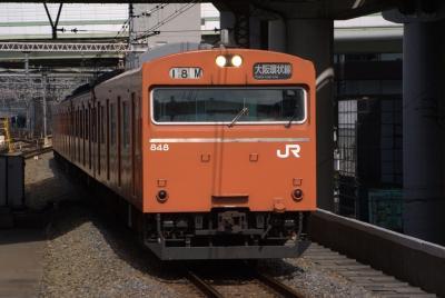 大阪環状線103系。
