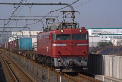 EF8187牽引2095レ