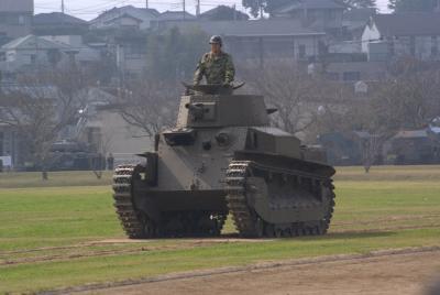 八九式中戦車。