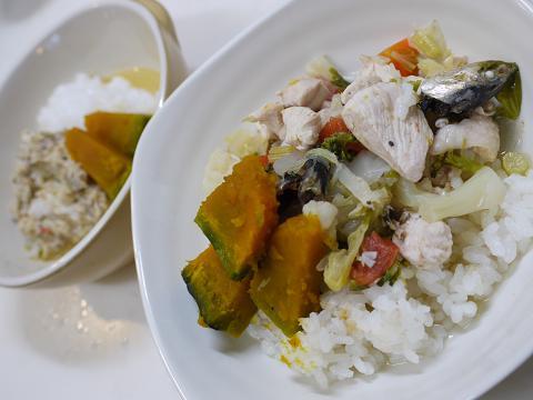 鶏胸肉と野菜