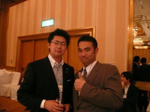 望月高清さんと幸せ父さんのツーショット写真!