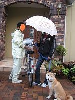 雨の日の装い 3タイプ