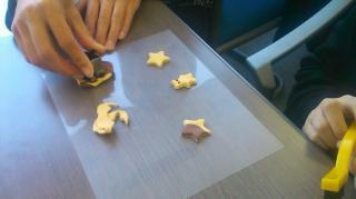 JAF スイーツデコ講習会のクッキー
