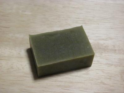 緑茶石けん