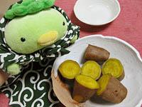 安納芋のふかし芋