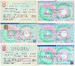 91年にいったライブのチケット
