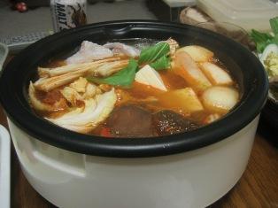080301 海鮮キムチ鍋
