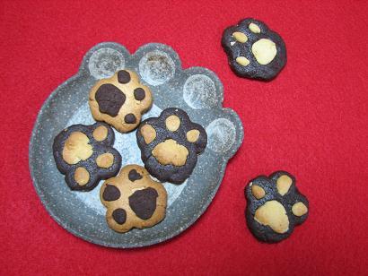 ゆうこさんの肉球クッキー