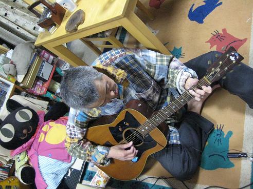 猫ギターピックアップ 012