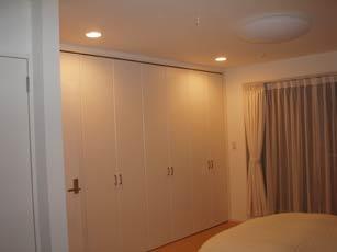 寝室照明1