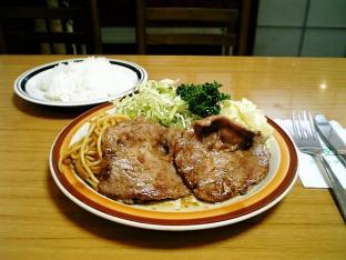 ミツワグリル (豚)焼肉+ライス002