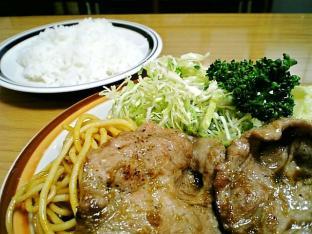 ミツワグリル (豚)焼肉+ライス003