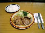 ミツワグリル (豚)焼肉+ライス005