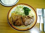 ミツワグリル (豚)焼肉+ライス006