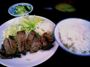 山田ホームレストラン、本日定食C牛焼肉003