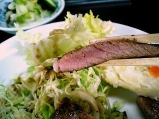 山田ホームレストラン、本日定食C牛焼肉004
