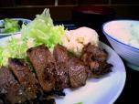 山田ホームレストラン、本日定食C牛焼肉005