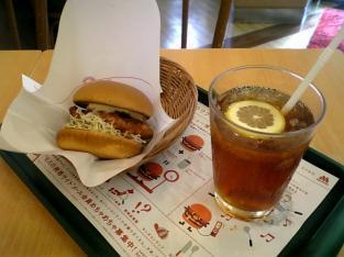 モス舗限定メニュー宮崎県産鶏使用チキン南蛮バーガー001