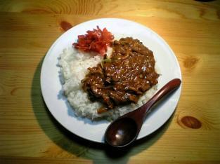 夕飯にカレーライス001