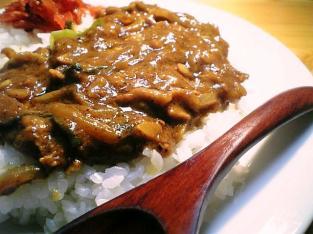 夕飯にカレーライス002