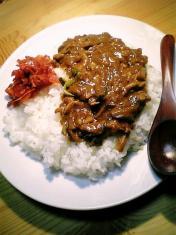 夕飯にカレーライス003