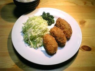 スーパーの総菜カキフライ00