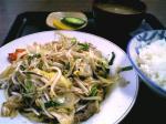 山田ホームレストラン 肉野菜炒め04