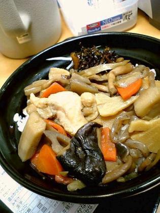 吉野家 根菜ときのこ丼1