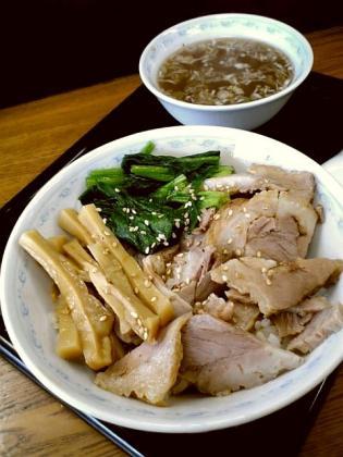 横浜とんとん、餃子、ちゃーしゅう丼5