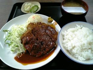 山田ホームレストラン メンチカツ02
