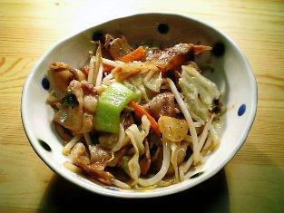 中華風肉野菜炒め01