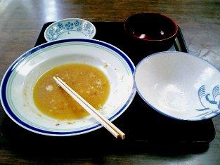 山田ホームレストランで本日の定食Cカツ煮003