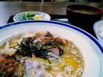 山田ホームレストランで本日の定食Cカツ煮007