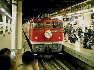上野駅喜多そばで天ぷらうどんを食べる001