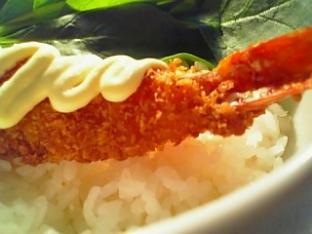 海老フライ丼を作る009