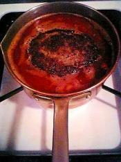 トマトソースで煮込んだ煮込みハンバーグ003