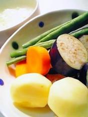 夏の野菜のカレー002