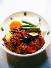 夏の野菜のカレー006