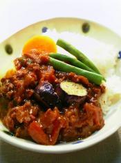 夏の野菜のカレー007