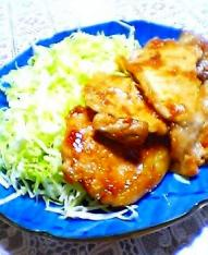 豚の生姜焼き001