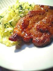 豚味噌漬け焼き定食003