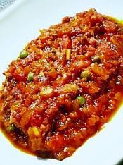 茄子ミートソース丼004