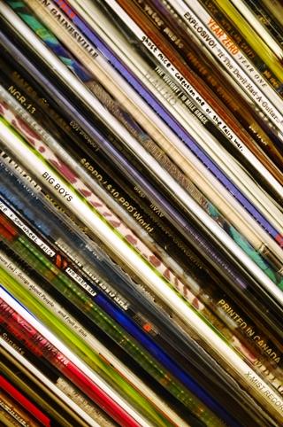 レコード棚