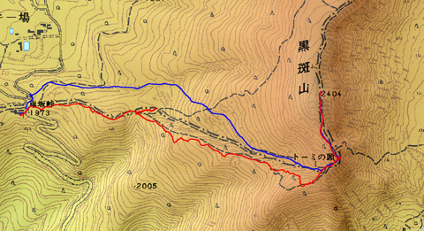 1102黒斑山ログ