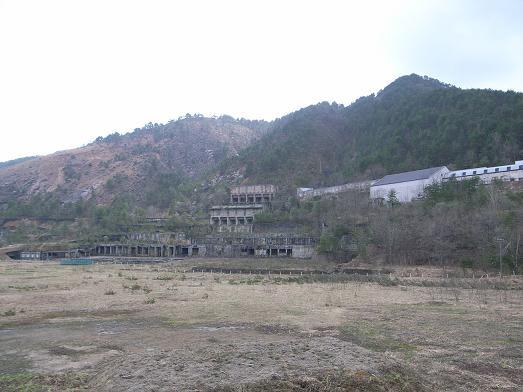 尾去沢鉱山遠景