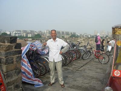 城壁サイクリング4