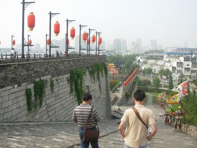 城壁サイクリング1